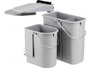 WESCO vestavný odpadkový koš 29 L Ekotainer Junior