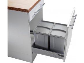 WESCO PULLBOY VARIO vysouvací odpadkový koš 833555-85 34 l