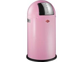 WESCO odpadkový koš Push-boy 50 - růžová