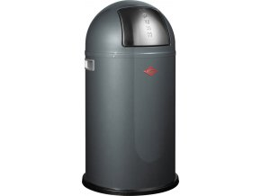 WESCO odpadkový koš Push-boy 50 L - grafit