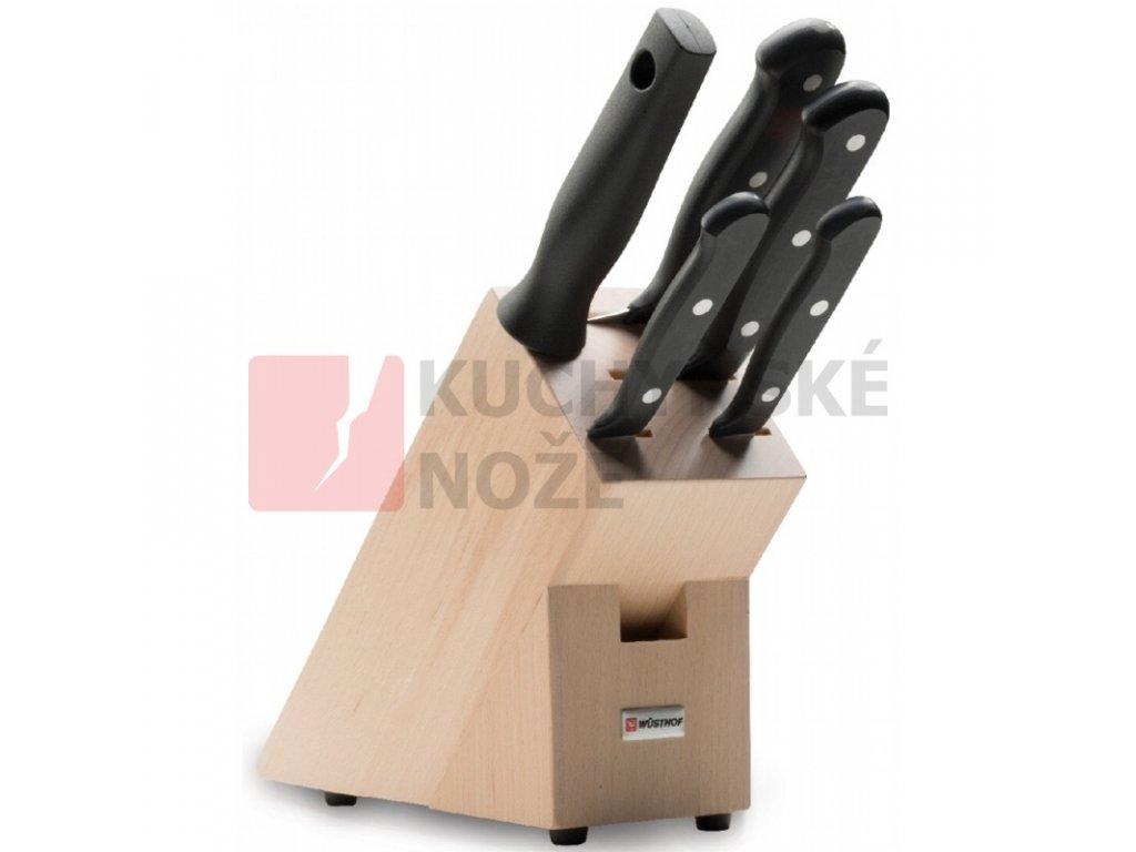 Wüsthof blok s noži Gourmet 5 dílů