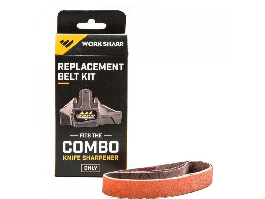 Sada pásů k brusce Worksharp Combo Knife Sharpener WSCMB