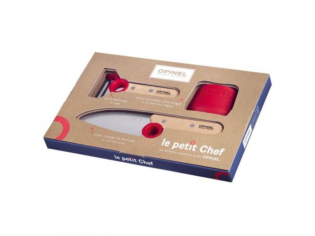 Opinel dětský kuchyňský set - Le Petit Chef