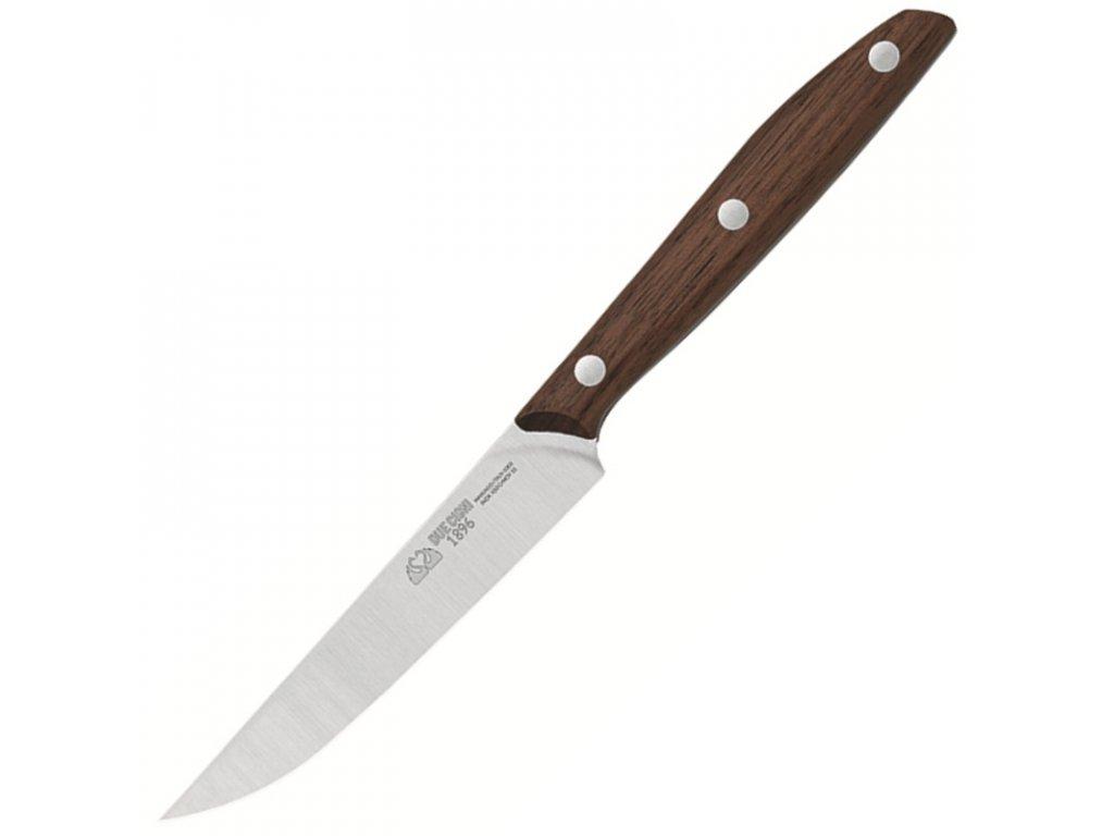 Due Cigni nůž steakový řada 1896 ořech 11cm
