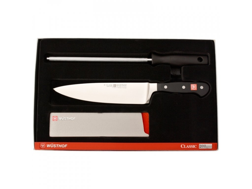 Wüsthof nůž kuchařský Classic 20cm - startovací sada