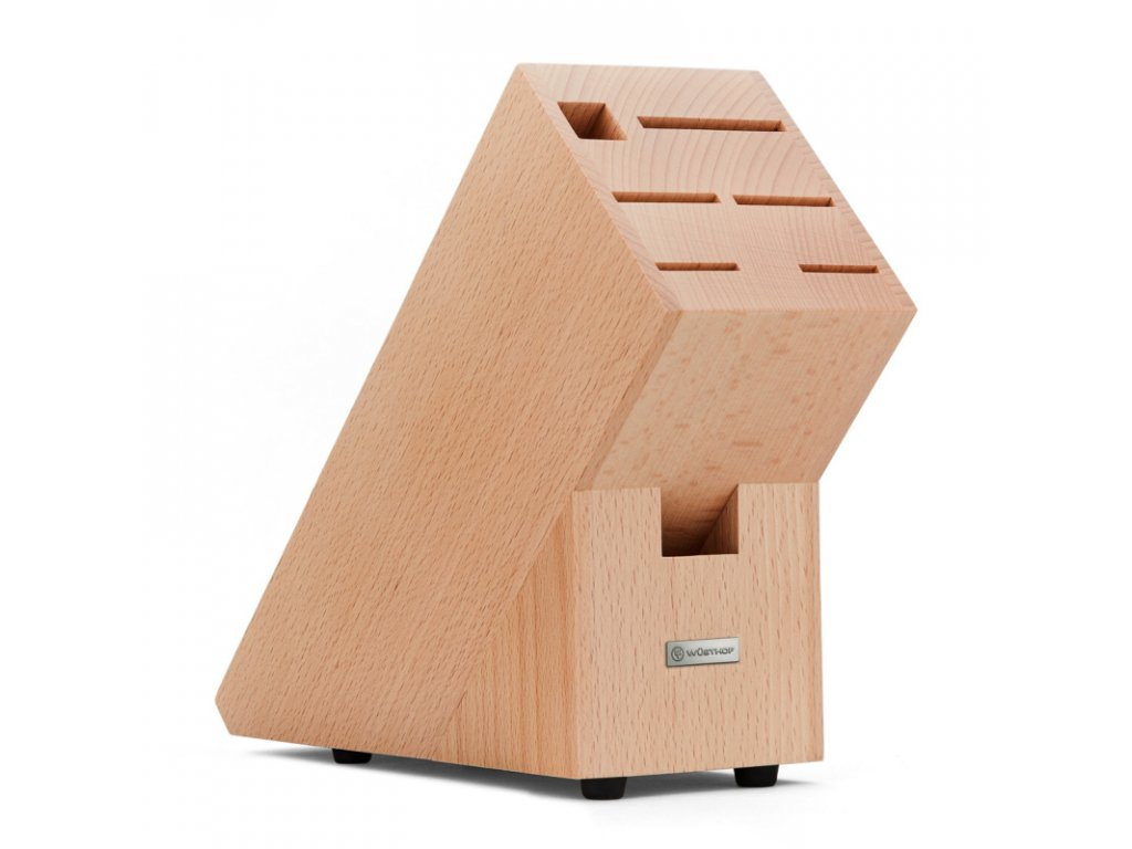 1090370101 CLASSIC IKON Nuz kucharsky 20 cm a Blok na noze svetly Wusthof Solingen 2