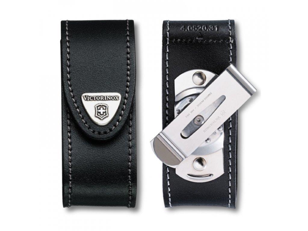 Pouzdro Victorinox 111mm 4-6 vrstev černé s otočnám klipem 4.0524.31