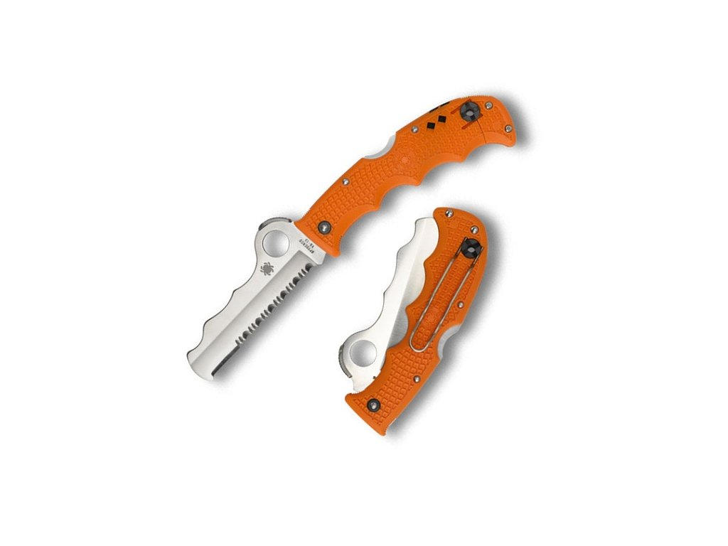 Spyderco Assist Orange Rescue SC79PSOR