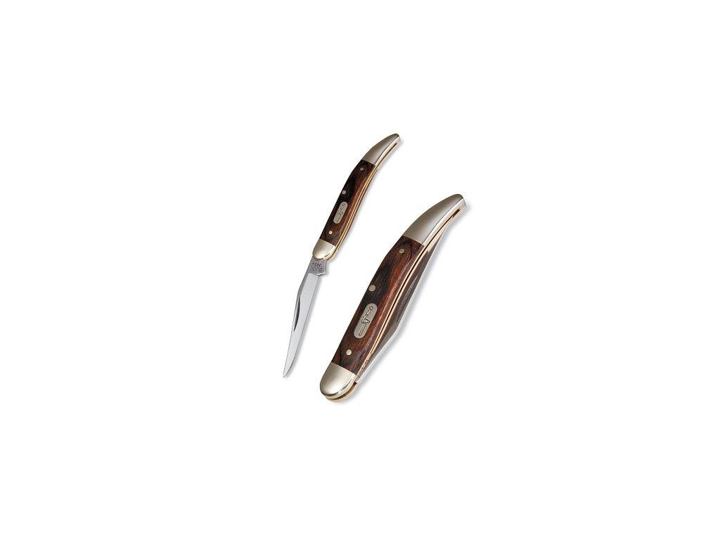 Buck Toothpick Pocket Knife One Blade Woodgrain BU385BRS