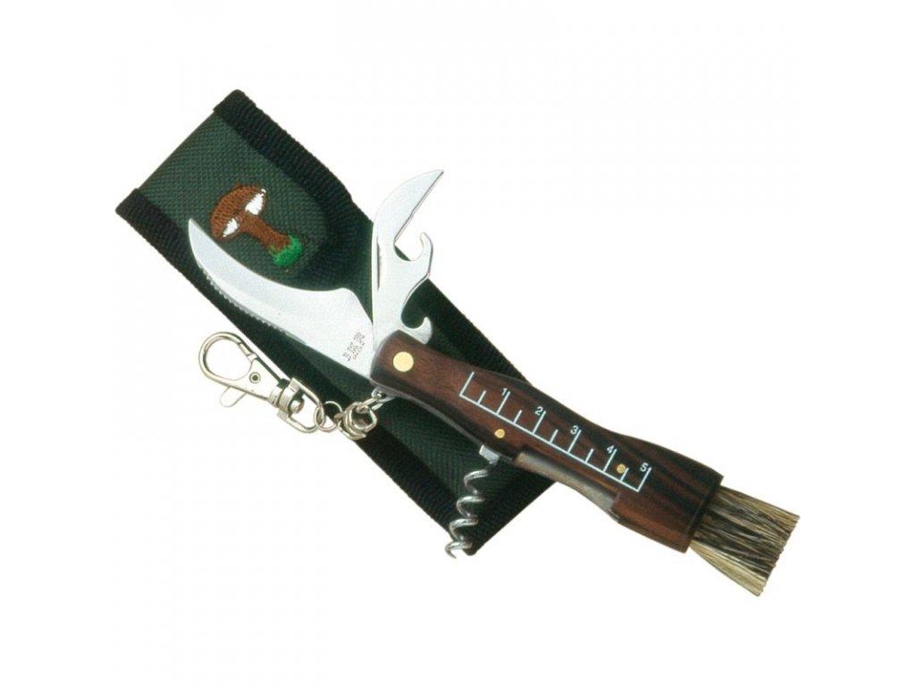 Houbařský nůž se štětečkem Joker 90 J-JKR90 / NO-104BW-3