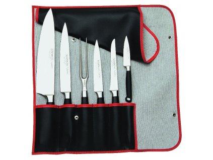 Burgvogel šestidílná souprava nožů v pouzdře MASTER Line