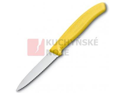 Victorinox nůž na zeleninu 8cm žlutý