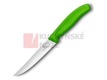 Victorinox nůž steakový 12cm zelený