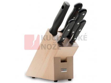 Wüsthof blok s noži Gourmet 5 dílů  AKCE