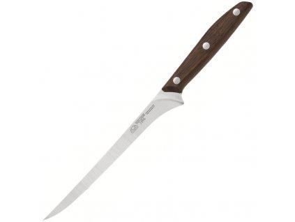 Due Cigni nůž filetovací řada 1896 ořech 18cm