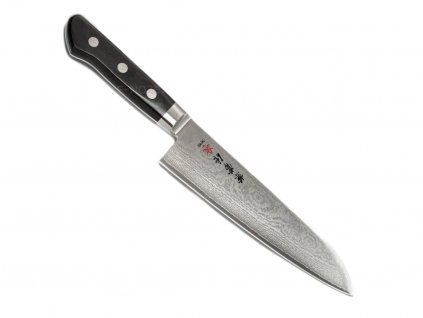 Kanetsune Black Santoku 180mm