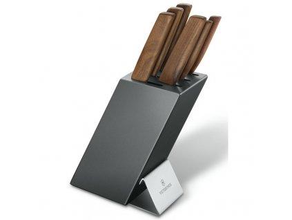 Victorinox Swiss Modern blok na nože, 6 ks