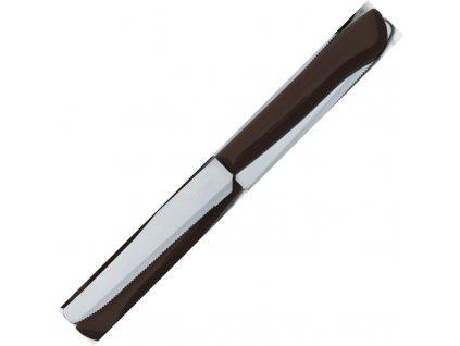 Due Cigni nůž svačinový hnědý 11 cm