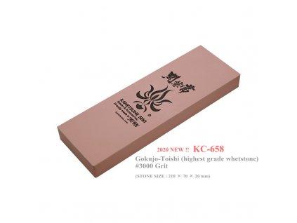 Kanetsune japonský brusný kámen velmi jemný 3000 grit