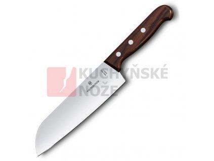 Victorinox kuchyňský nůž SANTOKU 17cm dřevo