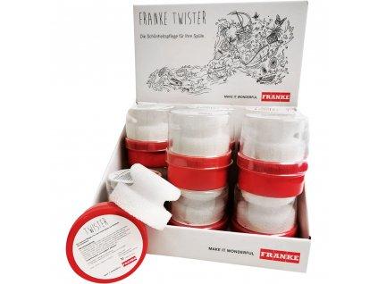 Franke Čistiaca pasta Twister (sada 12 x 125 ml)