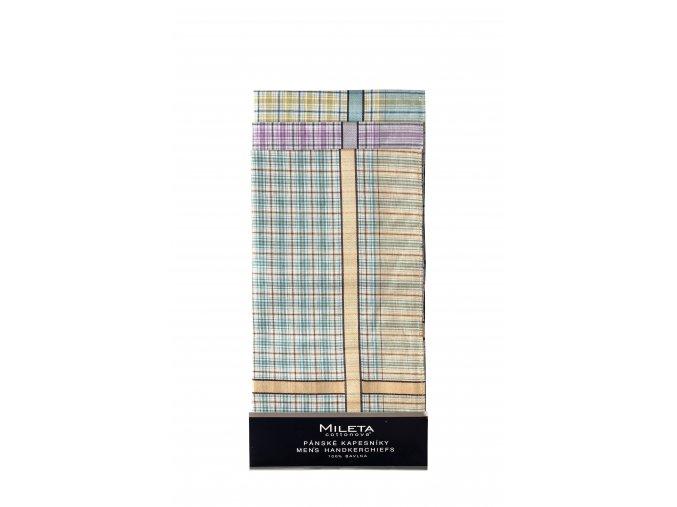 Mileta kapesníky pastelové barvy 40x40cm, 6ks mix
