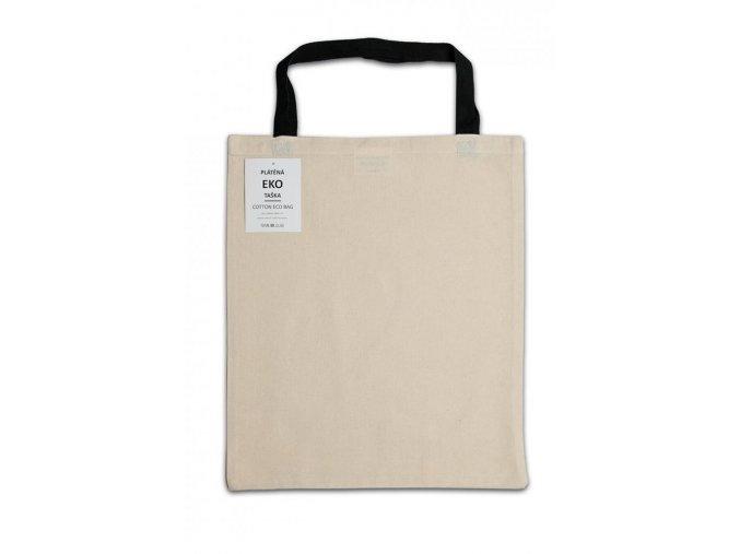 Plátěná EKO taška - 100% bavlna režná