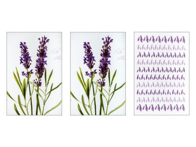 bavlněné utěrky SLEEP WELL® for HOME 50x70cm 3ks - LEVANDULE