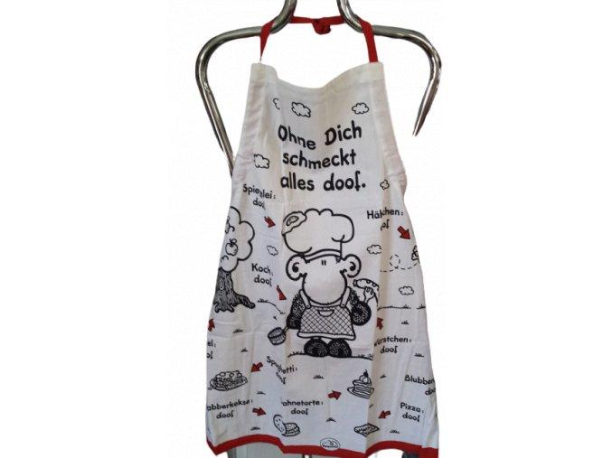 Zástěra s motivem Ovečky kuchařky