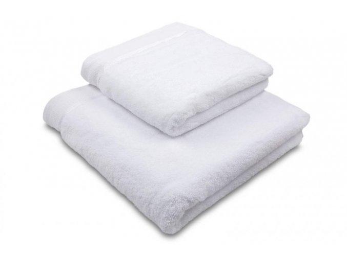 Ručník mikrobavlna SLEEP WELL® - 50x100 cm - BÍLÁ