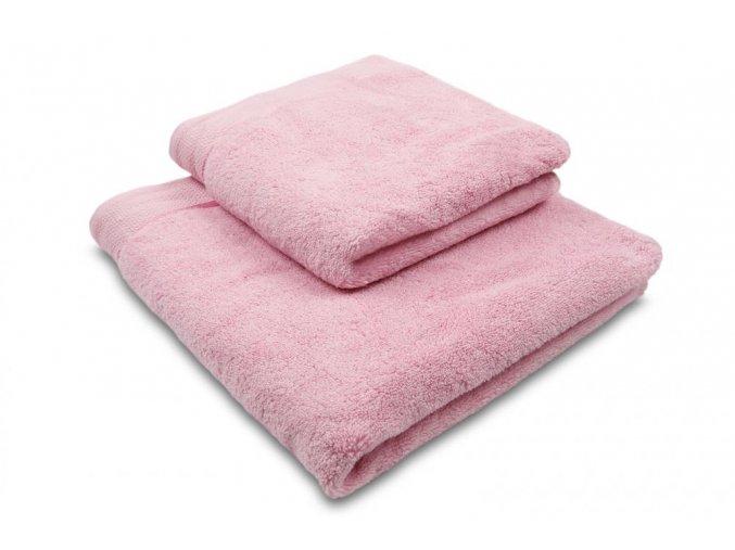 Ručník mikrobavlna SLEEP WELL® - 50x100 cm - RŮŽOVÁ