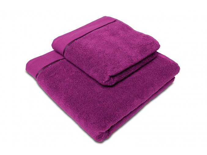 Ručník mikrobavlna SLEEP WELL® - 50x100 cm - BORŮVKOVÁ
