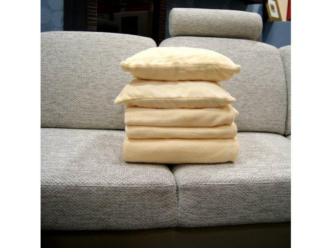 Přehozy na sedací soupravu mikrovlákno SLEEP WELL® - ORANŽOVÉ