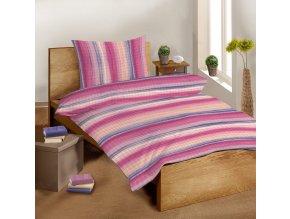Krepové bavlněné povlečení SLEEP WELL 70x90 cm + 140x200 cm – EVA