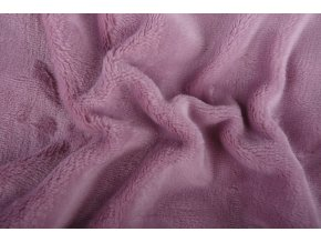 Prostěradlo mikroflanel SLEEP WELL® - 90x200 cm - fialová