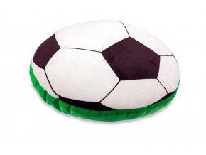 Fotbalový míč s ukrytou píšťalkou - polštářek, průměr 40 cm