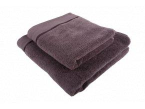 Osuška mikrobavlna SLEEP WELL® - 70x140cm - ANTRACIT