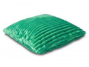 Povlak na polštářek Sleep Well® manžestr 40x40cm - SMARAGDOVÁ