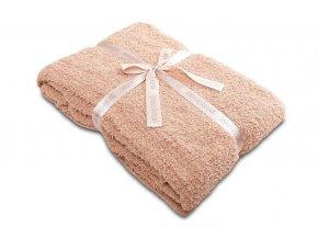 Luxusní deka SLEEP WELL® z mikrovlákna 150x200cm - LUXURY ČOKOLÁDA