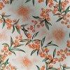 UBRUSOVINA PVC s textilním podkladem/PVC UBRUS - vzor rakytník oranžový