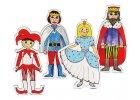 Kašpárek, princezna, královna, král