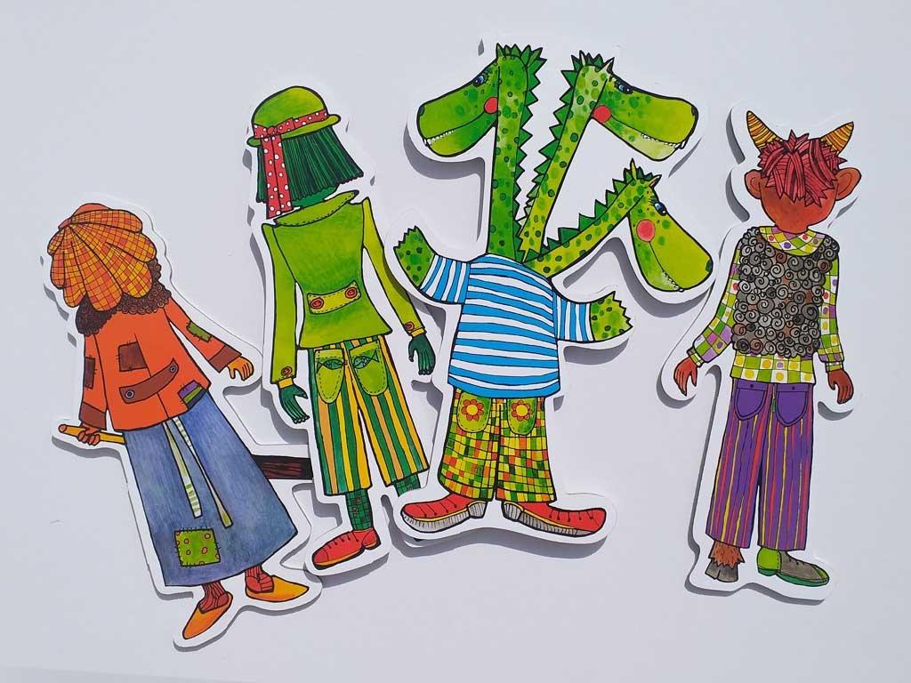 drak cert jezibaba vodnik loutky pro deti marionetino (5)
