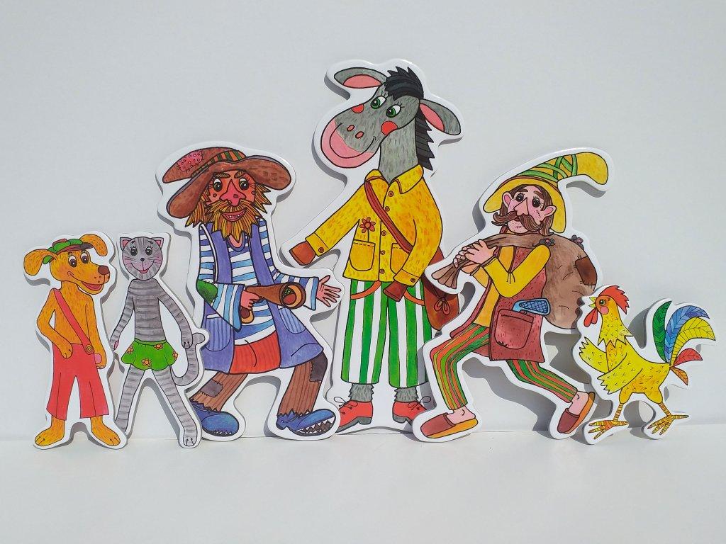 bremsti muzikanti zviratka a loupeznici zviratka a petrovsti loutky babky marionetino (2)