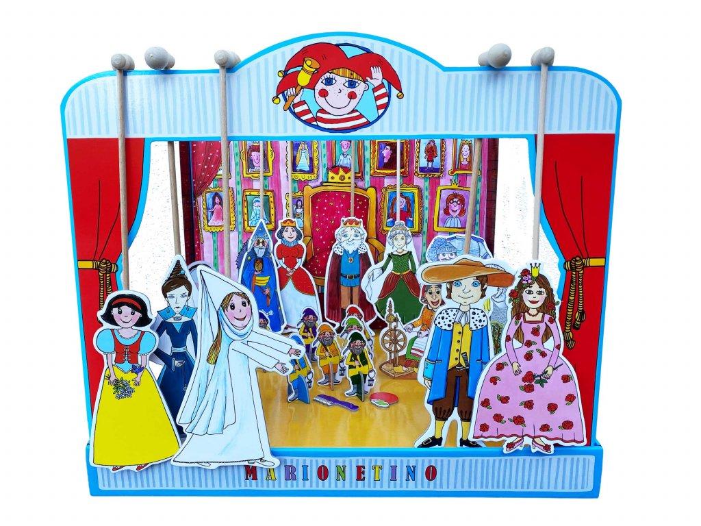 loutkove divadlo snehurka ruzenka marionetino (1)