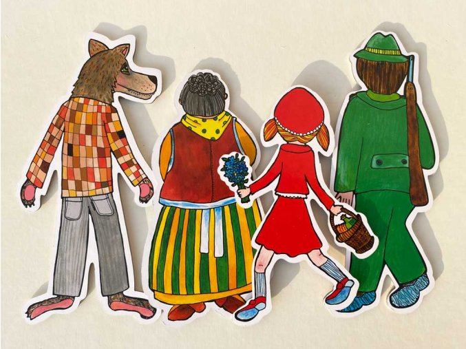 loutkove divadlo trojpohadka cervena karkulka pernikova chaloupka kuzlatka marionetino (30)