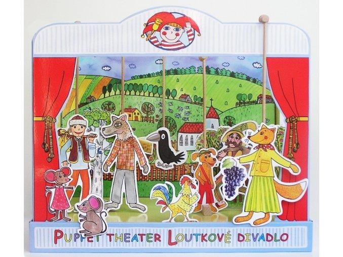Loutkové divadlo bajky  EZOP, KRYLOV, LA FONTAINE