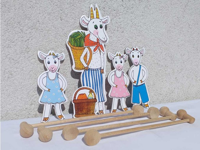 koza kuzlata loutky tycky marionetino (3)