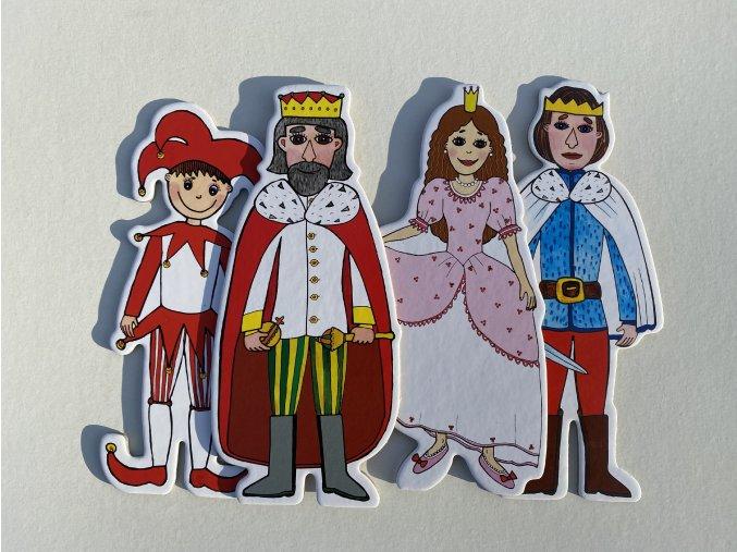 princezna kasparek princ kral loutky marionetino (3)