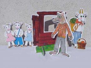 vlk a kozliatka loutky marionetino (3)