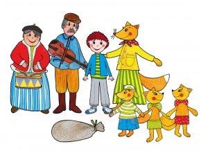 LOUTKOVÉ DIVADLO BUDULÍNEK, BOUDO BUDKO, KOBLÍŽEK  + máma myška s myšaty